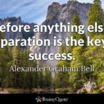 Quotes About Preparation And Success Twitter