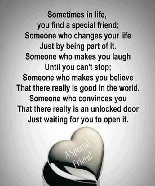 Quotes About Special Friends In Your Life thumbnail