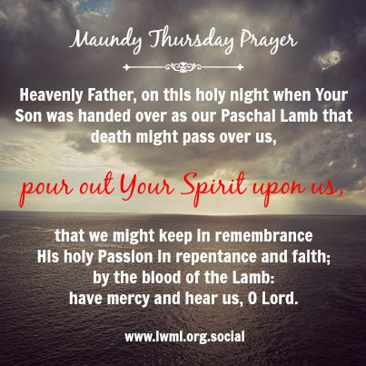 Quotes For Maundy Thursday Twitter thumbnail