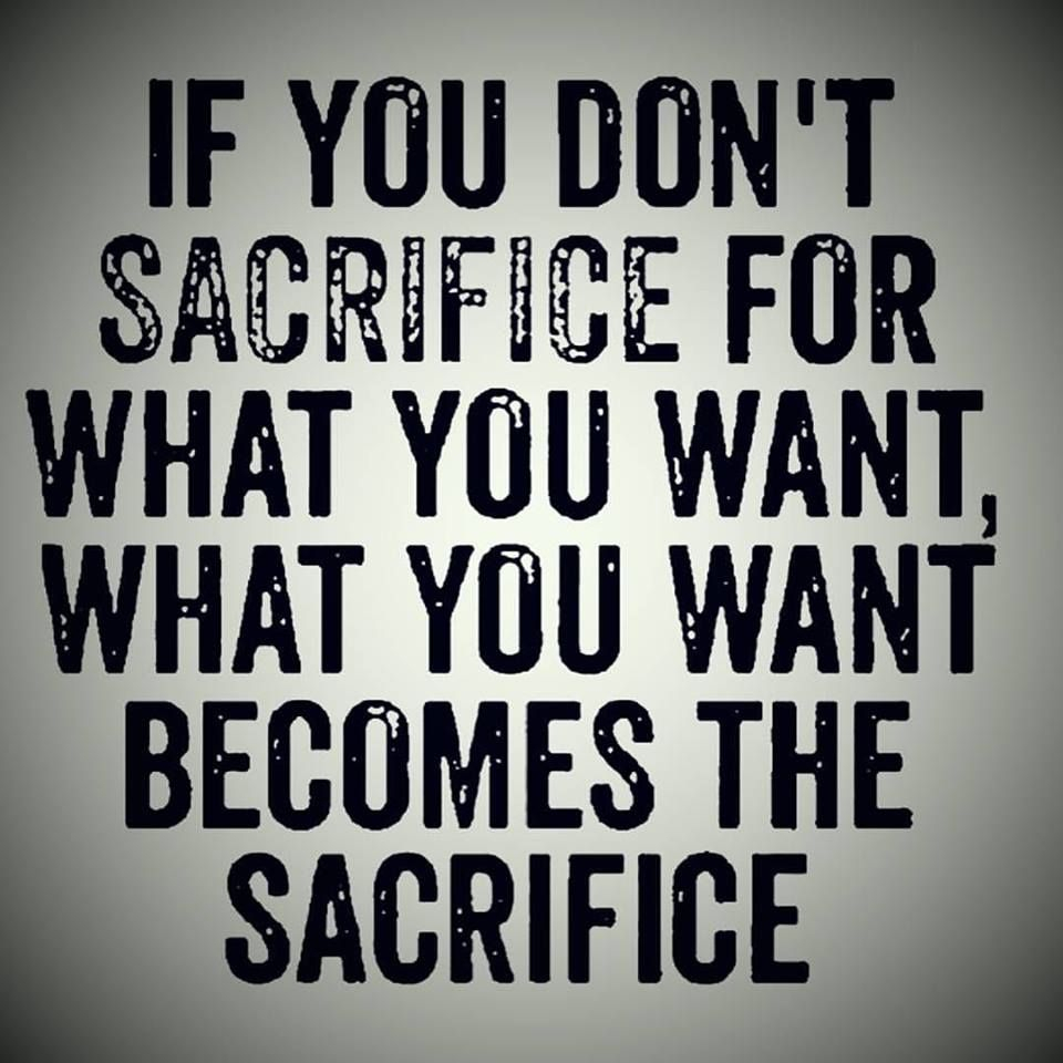 Quotes Sacrifice For Success Pinterest thumbnail