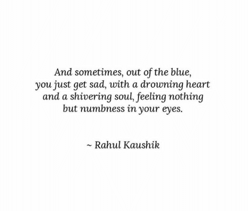 Rahul Kaushik Sad Quotes Facebook thumbnail