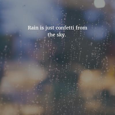 Rain Quotes Short Tumblr thumbnail