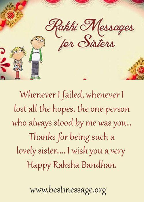 Rakhi Wishes For Sister Facebook thumbnail