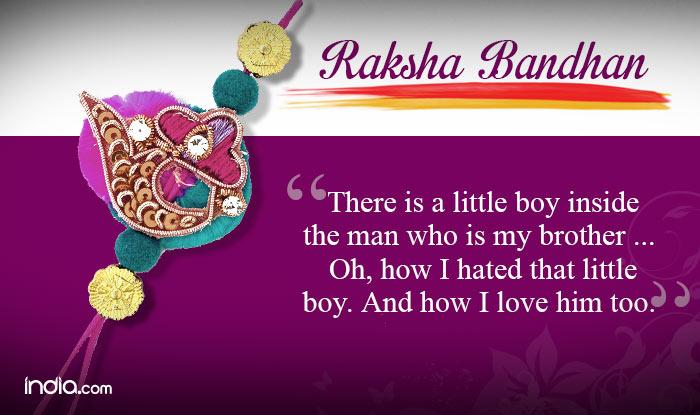 Raksha Bandhan Greetings For Brother Twitter thumbnail