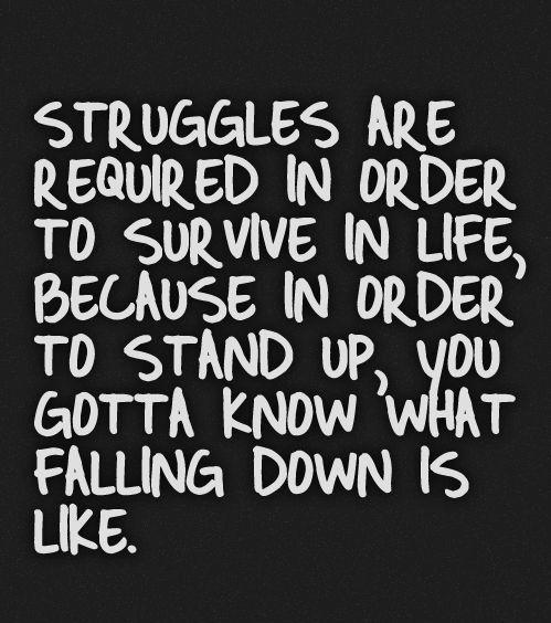 Real Life Struggle Quotes Facebook thumbnail