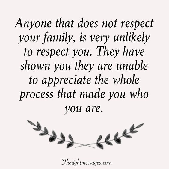 Respect Your Family Quotes Twitter thumbnail