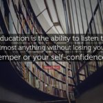 Robert Frost Education Quote Facebook