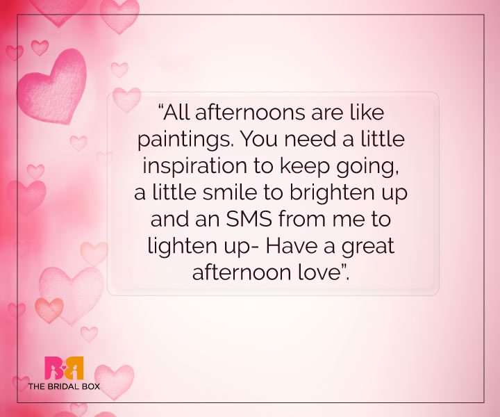 Romantic Good Afternoon Messages For Her Pinterest thumbnail