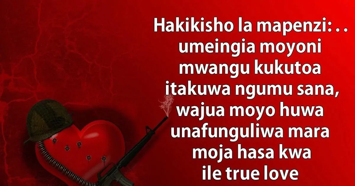 Romantic Love Messages In Kiswahili Pinterest thumbnail