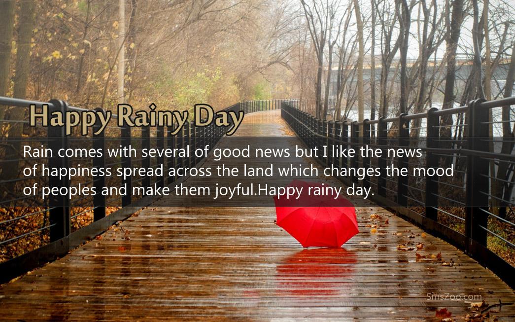 Romantic Rainy Day Sms Facebook thumbnail