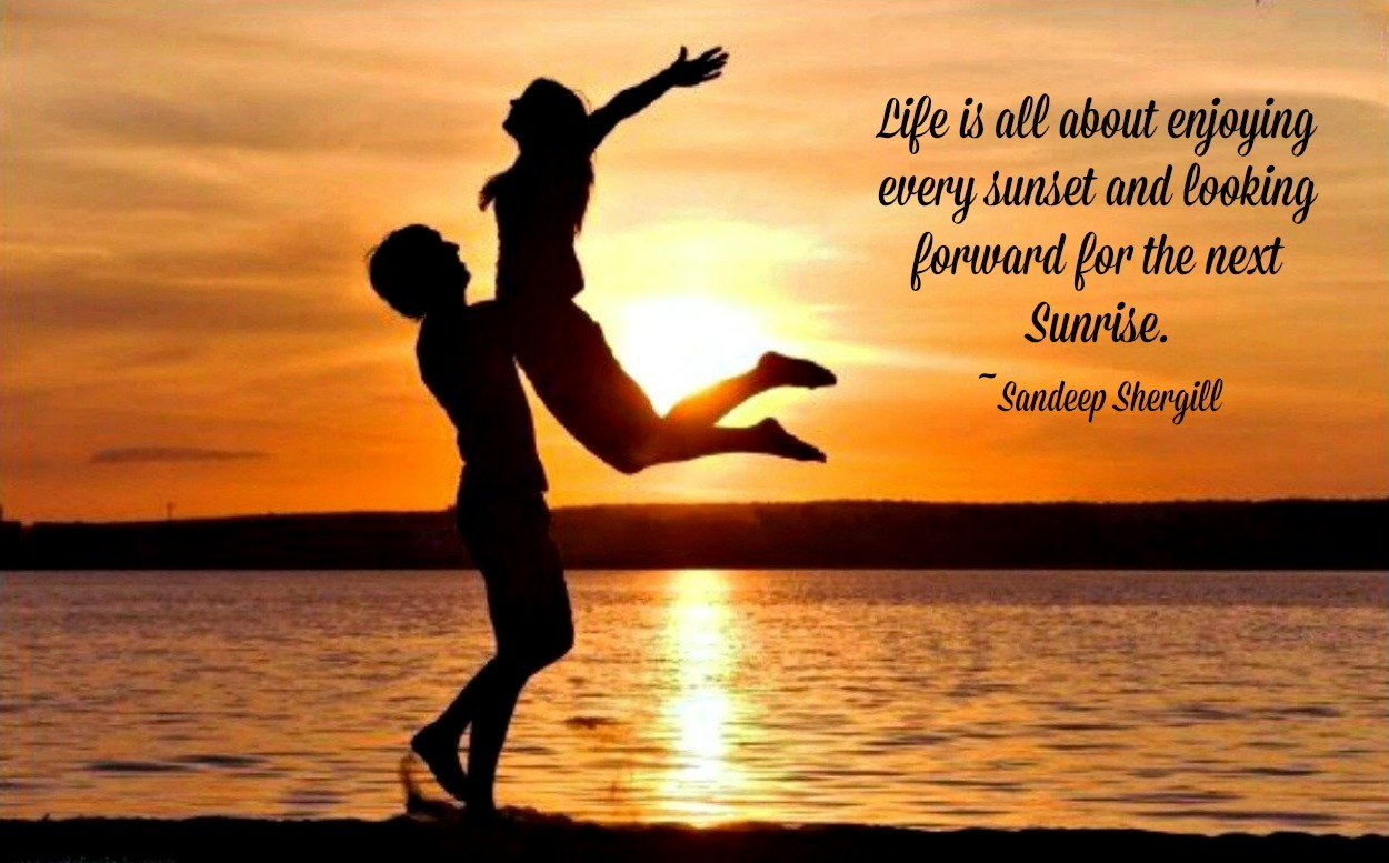 Romantic Sunset Quotes Twitter thumbnail