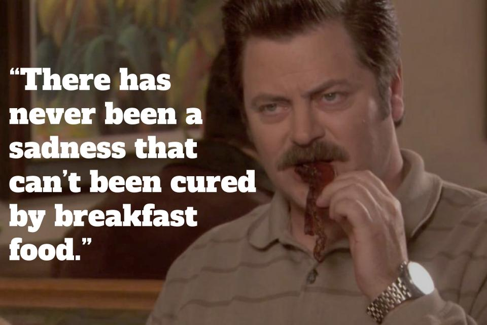 Ron Swanson Meat Quotes Facebook thumbnail