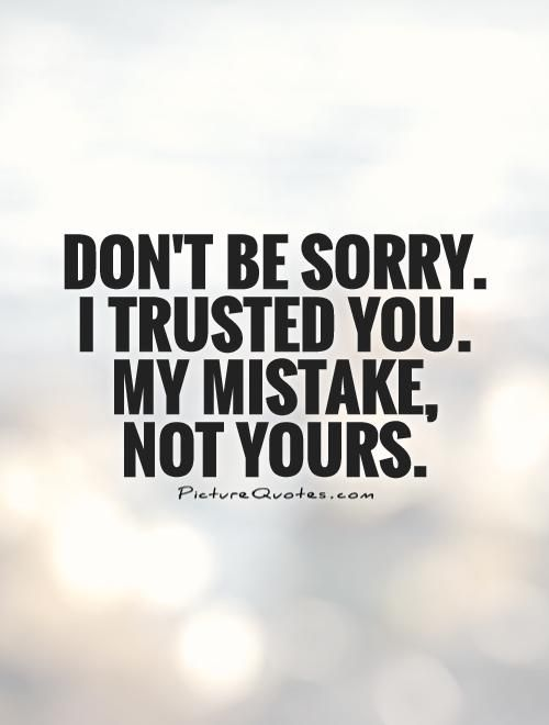 Sad Quotes On Trust Twitter thumbnail