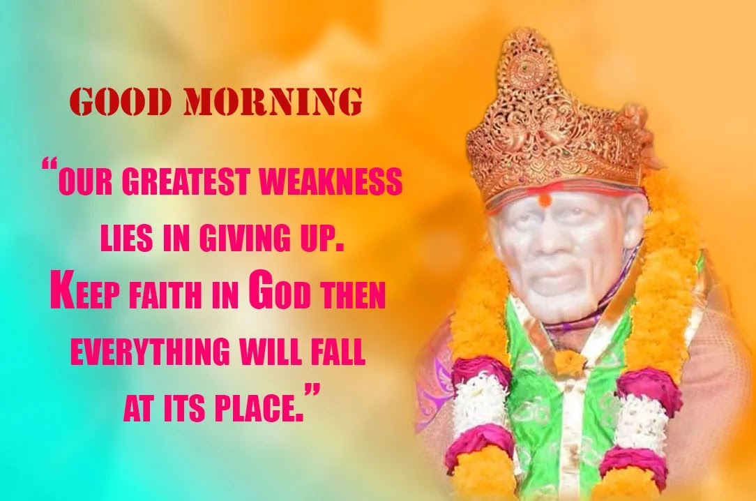 Sai Baba Good Morning Quotes Tumblr thumbnail