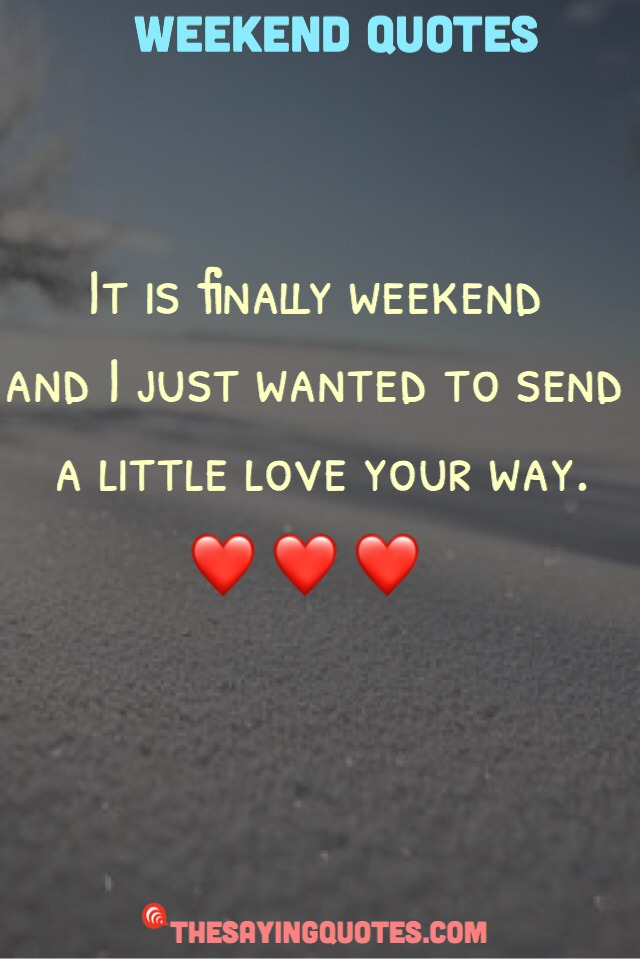 Saturday Love Quotes thumbnail