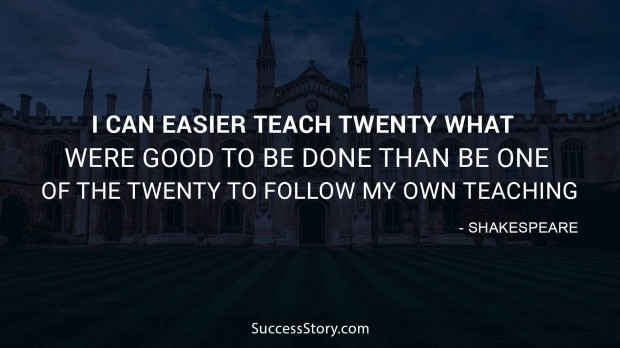 Shakespeare Quotes About Teaching Tumblr thumbnail