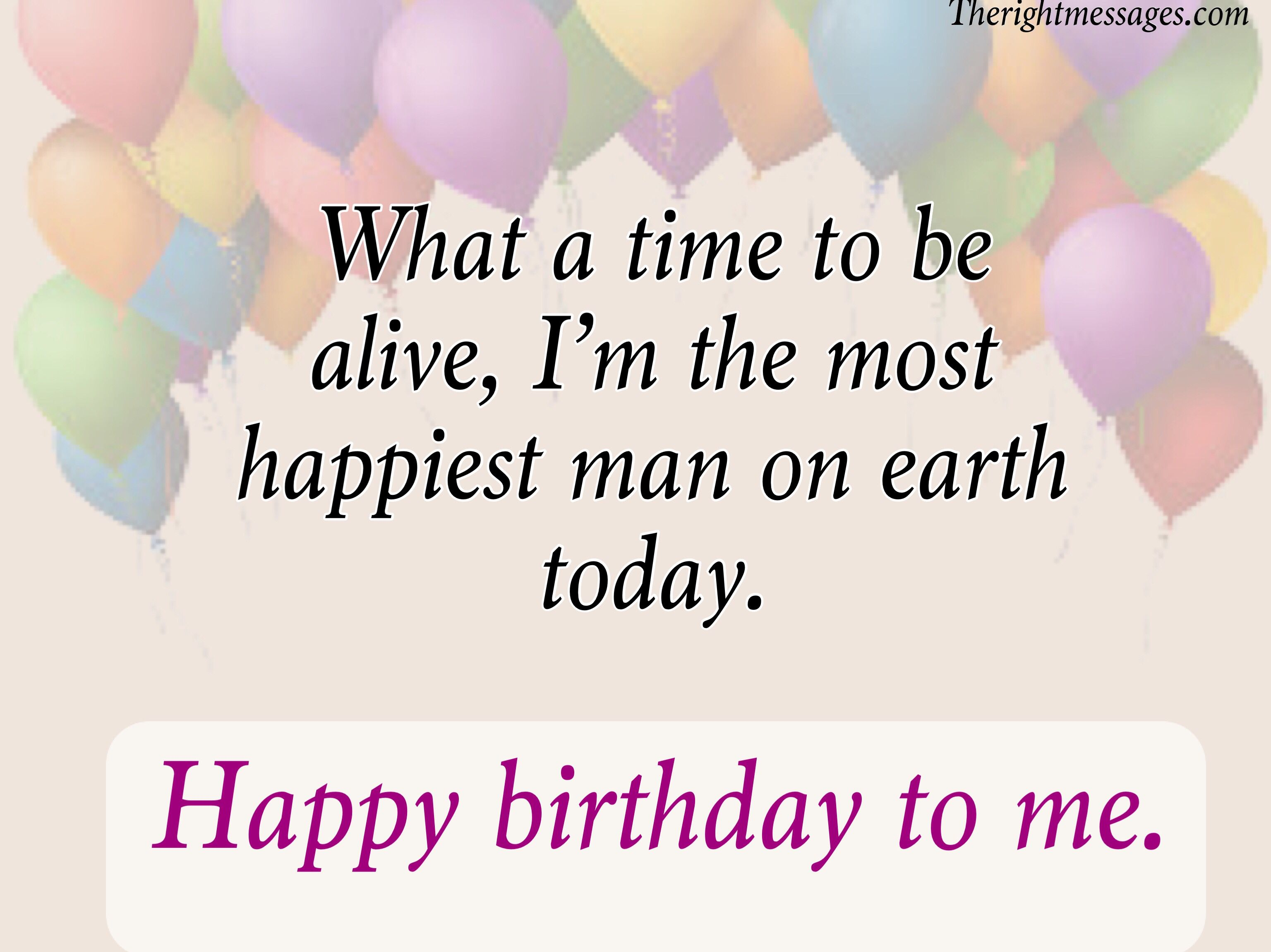 Short Birthday Message For Myself thumbnail