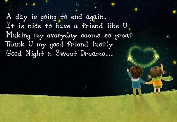Short Sweet Goodnight Message Pinterest thumbnail