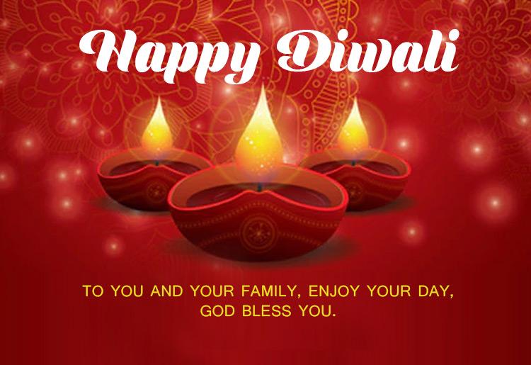 Simple Diwali Wishes Facebook thumbnail