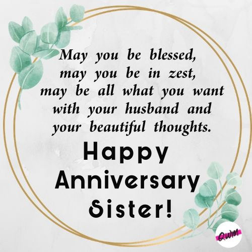 Sister Marriage Anniversary Quotes thumbnail