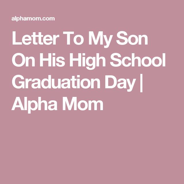 Son High School Graduation Message Twitter thumbnail