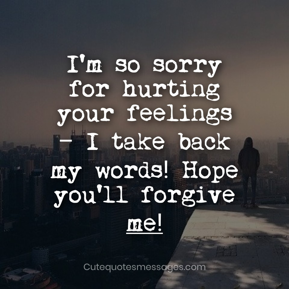 Sorry Message For Boyfriend - Best Of Forever Quotes