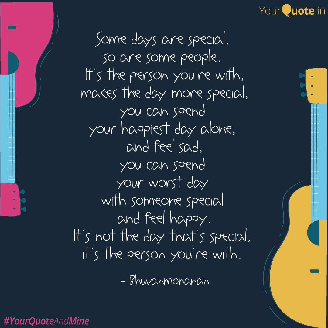 Special Day With Special Person Quotes Tumblr thumbnail