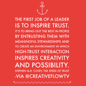 Stephen Covey Trust Quote Pinterest thumbnail