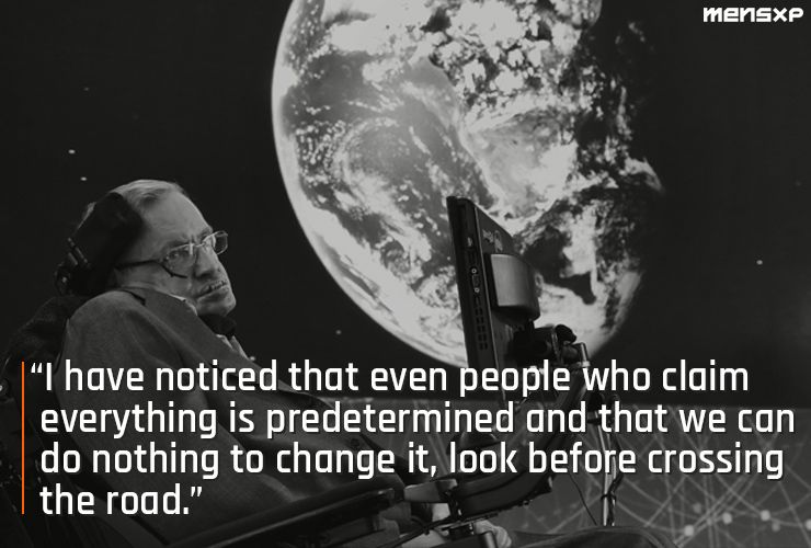 Stephen Hawking Positive Quotes thumbnail