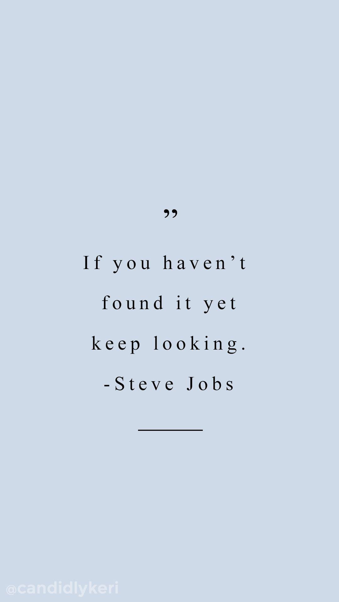 Steve Jobs Motivational Quotes Tumblr thumbnail