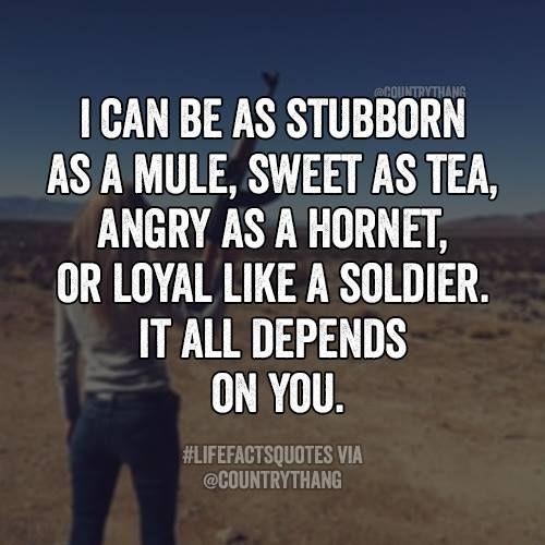 Stubborn Woman Quotes Facebook thumbnail