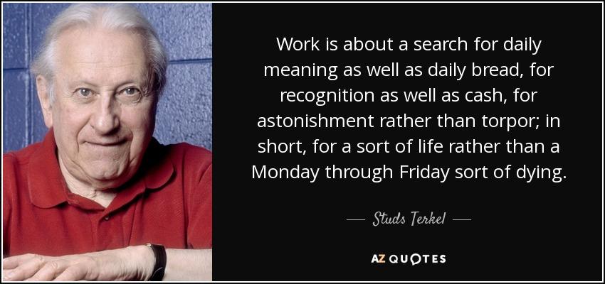 Studs Terkel Quotes Facebook thumbnail