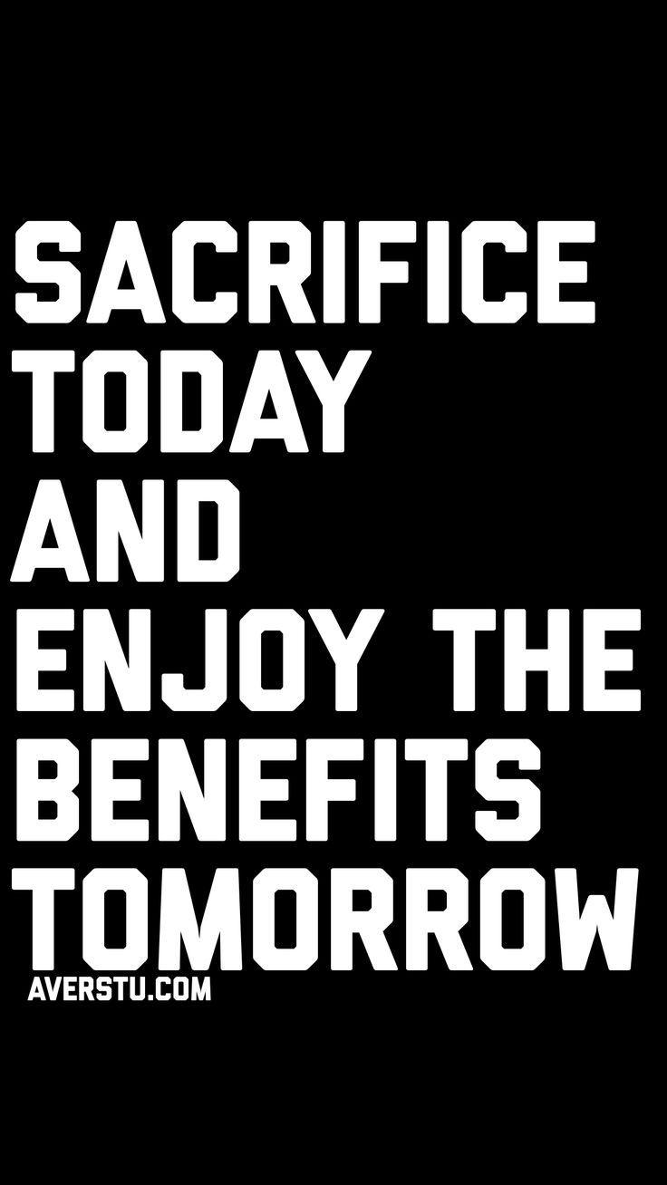 Success Requires Sacrifice Quotes Facebook thumbnail