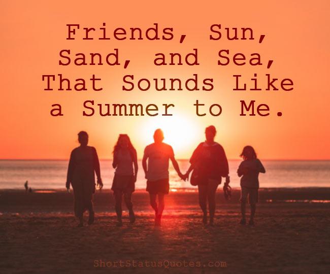 Summer Short Captions Pinterest thumbnail