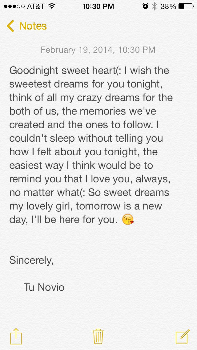 Sweet Goodnight Text For Her Tumblr thumbnail