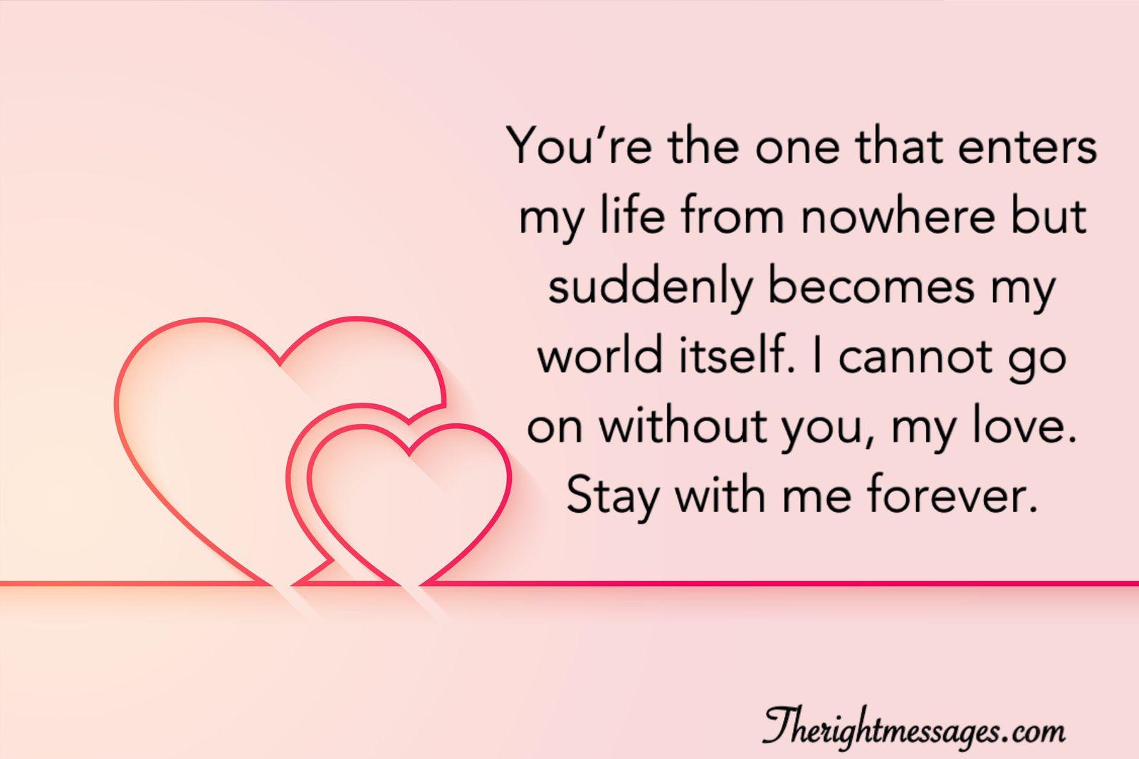 Sweet Romantic Love Words For Her Pinterest thumbnail