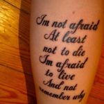 Tattoo Phrases About Strength