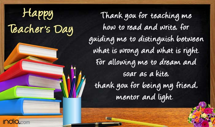 Teachers Message To Students On Teachers Day Pinterest thumbnail