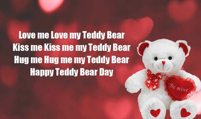 Teddy Bear Day Messages Pinterest thumbnail