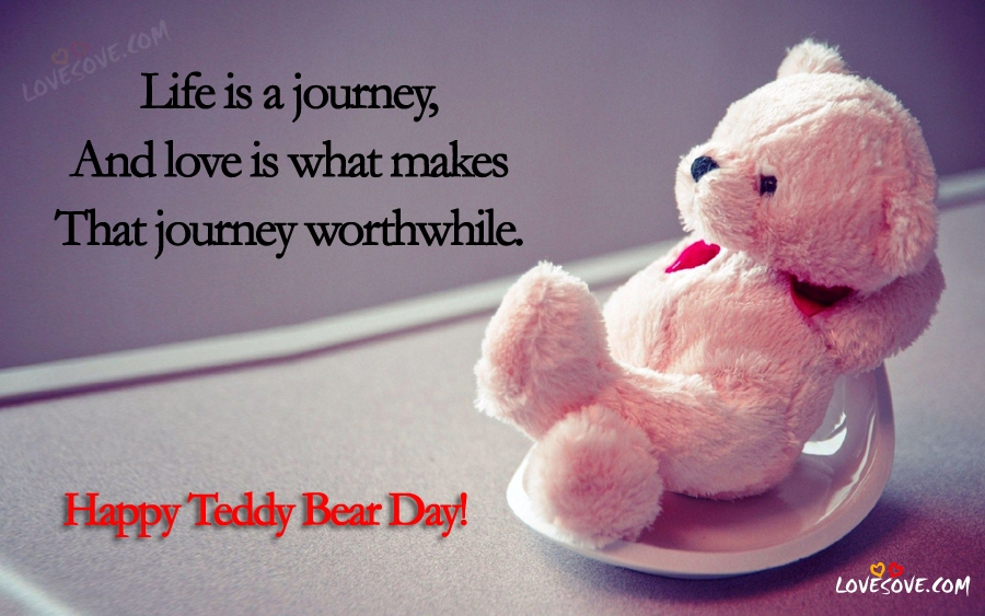 Teddy Bear Day Status Pinterest thumbnail