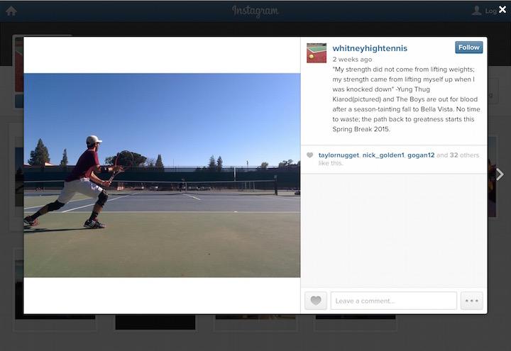 Tennis Instagram Captions Pinterest thumbnail