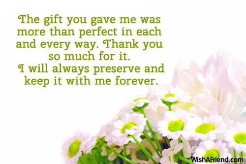 Thank You For Special Gift Quotes Facebook thumbnail