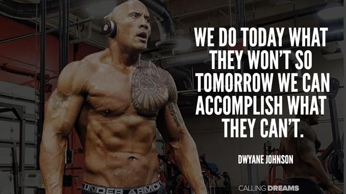 The Rock Motivational Quotes Twitter thumbnail