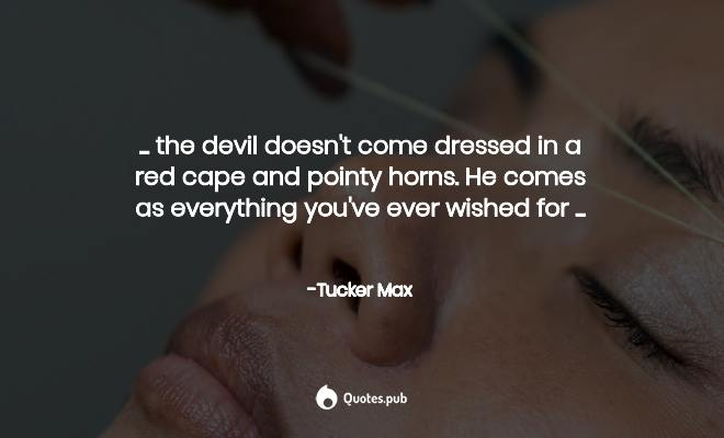 Tucker Max Quotes Tumblr thumbnail