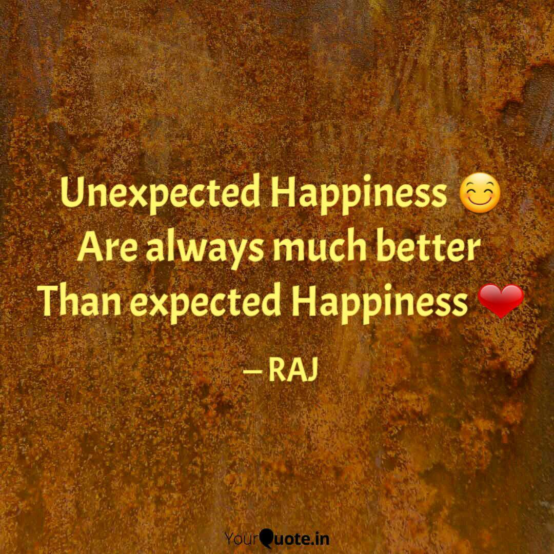 Unexpected Happiness Quotes Twitter thumbnail