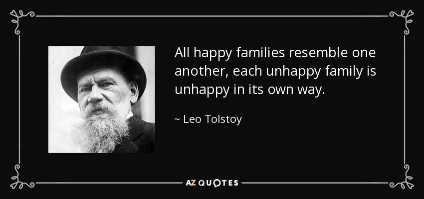 Unhappy Family Quotes Tumblr thumbnail