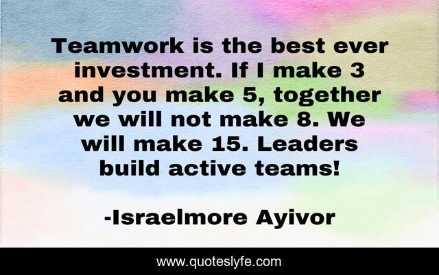 Unity Teamwork Quotes Facebook thumbnail