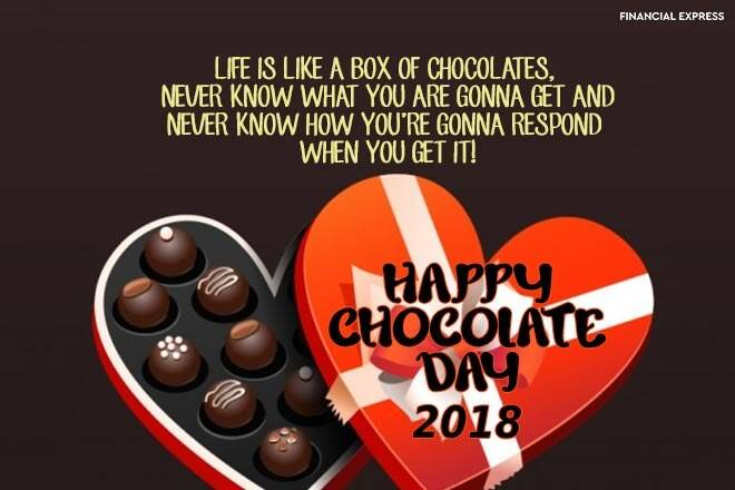 Valentine Chocolate Quotes Twitter thumbnail