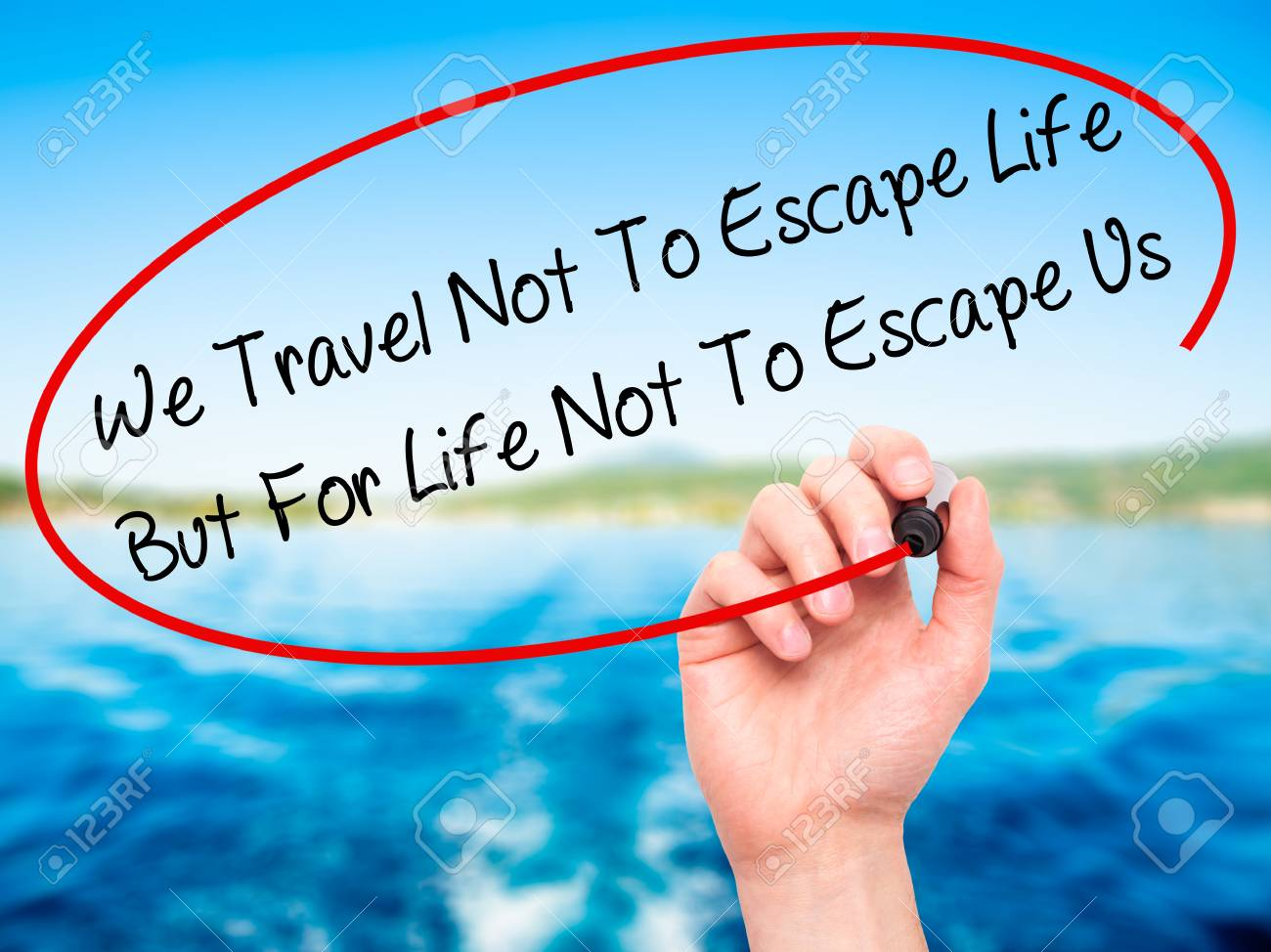 We Travel Not To Escape Life Twitter thumbnail