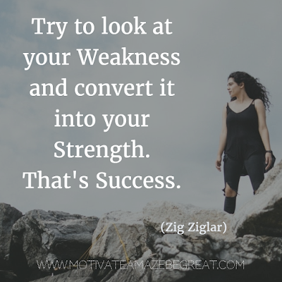 Weakness To Strength Quotes Twitter thumbnail